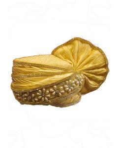 groom turban in fancy design