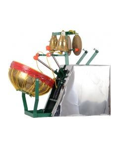 Temple Electric Drums With Bells Size(Lxbxh): 63 X 35 X 48 Cms-ELECTRIC DRUM WITH BELL OR TEMPLE MELAM / KOVIL MELAM - 10 INCH