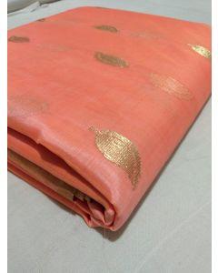 Chanderi Kataan Pure Silk Designer Saree178