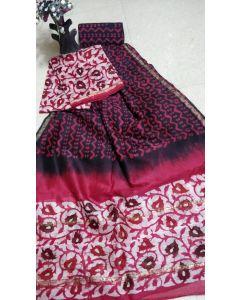 Banaras Chanderi Silk Lite Weight Saree13