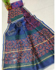 Banaras Satan Katan Silk Saree26