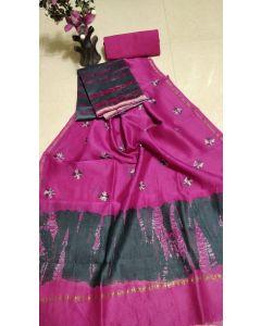 Banaras Chanderi Silk Lite Weight Saree15