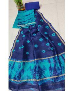 Banaras Chanderi Silk Lite Weight Saree16