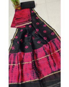 Banaras Chanderi Silk Lite Weight Saree17