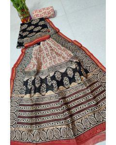 Banaras Chanderi Silk Lite Weight Saree14