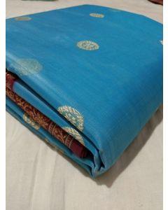 Chanderi Kataan Pure Silk Traditional Saree184