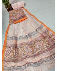 Banaras Chanderi Silk Lite Weight Saree19