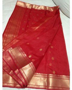 Chanderi Kataan Pure Silk Traditional Saree170