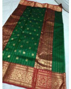 Chanderi Kataan Pure Silk Traditional Saree171