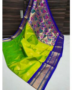 Paithani Handloom Kadiyal Silk Saree253