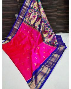 Paithani Handloom Kadiyal Silk Saree252