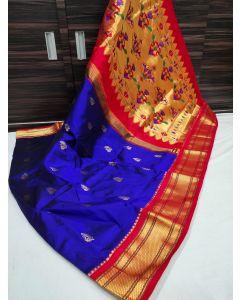 Paithani Handloom Kadiyal Silk Saree256
