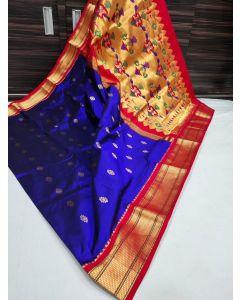 Paithani Handloom Kadiyal Silk Saree255