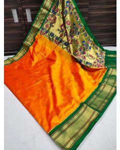 Paithani Handloom Kadiyal Silk Saree257
