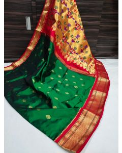 Paithani Handloom Kadiyal Silk Saree258