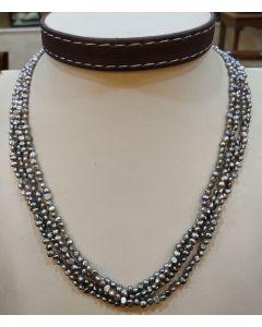 Irregular Grey Dyed Pearls