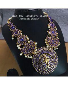 Necklace Dance Blue Haram