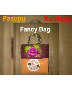 Fancy Bag Haldi Kumkum_50 Per Packet. There Will Be Slight Variation In Delivered Products Vs Image. Some Brands May Be Replica.