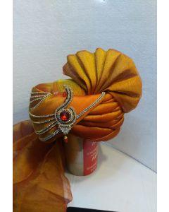 Fancy groom turban