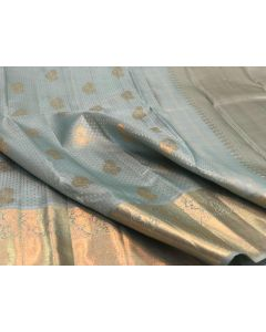Kanchipuram Handloom Pure Soft Silk Saree