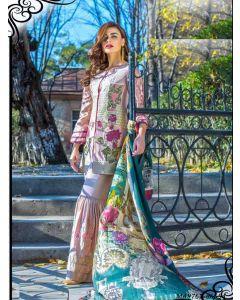 Pink Georgette Resham Ceremony Designer Salwar Kameez