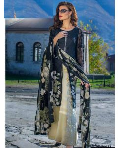 Black Georgette Resham Ceremony Designer Salwar Kameez