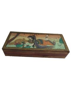 Wooden Gem Box_4*10. There Will Be Slight Variation In Delivered Products Vs Image. Some Brands May Be Replica.