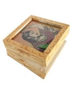White Wooden Box_4*3. There Will Be Slight Variation In Delivered Products Vs Image. Some Brands May Be Replica.