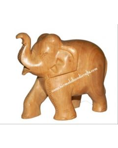 Wooden Plain Elephant_3 Inches. There Will Be Slight Variation In Delivered Products Vs Image. Some Brands May Be Replica.