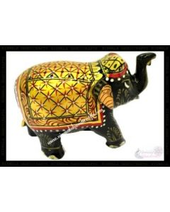 Wooden Painting Elephant_2 Inches. There Will Be Slight Variation In Delivered Products Vs Image. Some Brands May Be Replica.