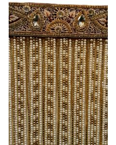 Sehra With Golden Frills  Golden Laces And Om Made On It 1