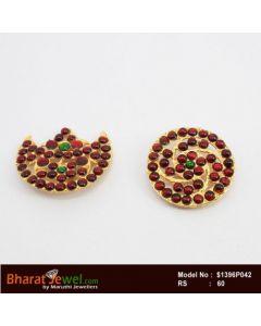 Bharatanatyam Accessories Sun And Moon Chanran Sooriyan   Bharatanatyam Jewelry