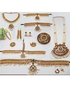 Bharatanatyam Jewelry Set   Dance Jewellery Online