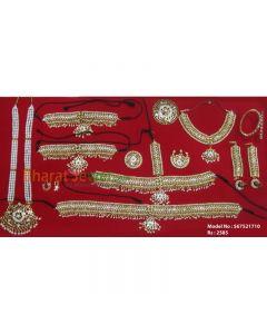 Bharatanatyam Jewelry set   Dance Jewellery