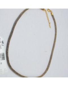 Blue Color Crystal Stones Golden Polish Chain Online12919