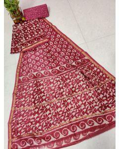 Paithani Semi Silk All Over Buttas Design Saree266