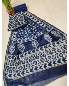Paithani Semi Silk All Over Buttas Design Saree267