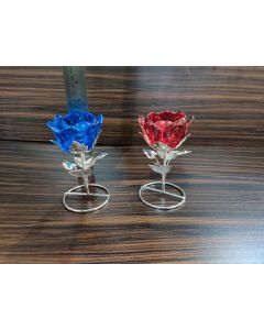 Rose Candle Stand Ideal For Retun Gift Or For Diwali