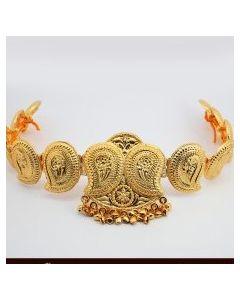 Gold Plated Manga Design Oddiyanam -Temple Oddiyanam -Dance Jewelry Online