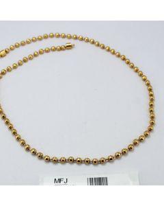 Golden Finish Balls Design Chain Online12919