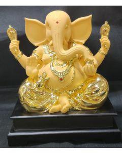 24kr Gold Plated Big Size Ganesh Idol