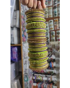 Customized  Bangles based on your Sari or any color of your choice Buy Online -9