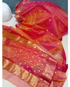 Paithani Semi Silk All Over Buttas Design Saree265
