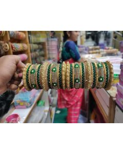 Customized  Bangles based on your Sari or any color of your choice Buy Online -10