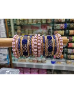 Customized  Bangles based on your Sari or any color of your choice Buy Online -11