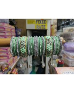 Customized  Bangles based on your Sari or any color of your choice Buy Online -14