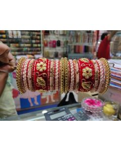 Customized  Bangles based on your Sari or any color of your choice Buy Online -15