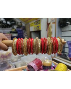 Customized  Bangles based on your Sari or any color of your choice Buy Online -16