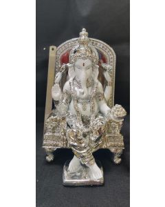 Pure Silver Plated Imported Ganesh Idol Big Size