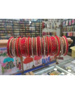 Customized  Bangles based on your Sari or any color of your choice Buy Online -17